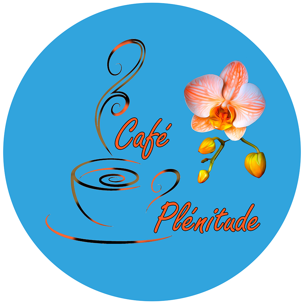 LOGO Café plenitude Cercle